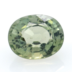 3.61 ct Green Apatite Oval Cut