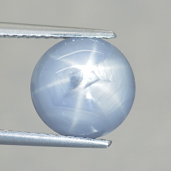 5.43ct Star Sapphire Round...