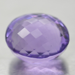 24.95ct Amethyst Oval Cut...