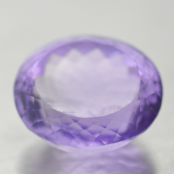 28.83ct Amethyst Oval Cut