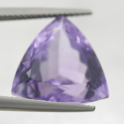 13.89ct Amethyst Trilliant Cut