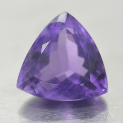 12.94ct Amethyst Trilliant Cut