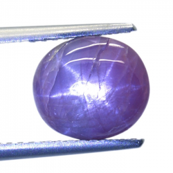 4.30ct Star Ruby Oval Cabochon