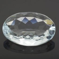 3.55ct Aquamarine Oval Cut