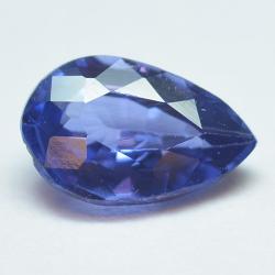 0.68ct Blue Sapphyre Pear Cut