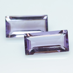 7.35ct Set Amethysts...