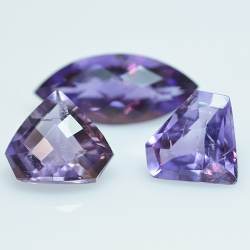 9.48ct Set Amethysts...