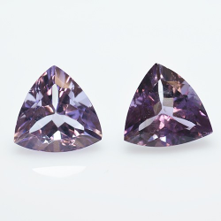 9.65ct Set Amethysts...