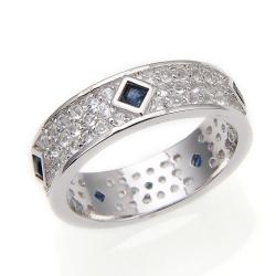 Blue Sapphire, White Topaz...