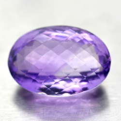 29.99ct Amethyst Oval Cut...