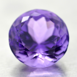 13.68ct Amethyst Round Cut