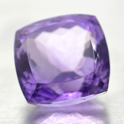 20.98ct Amethyst Cushion Cut