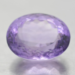 25.17ct Amethyst Oval Cut