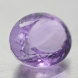 34.58ct Amethyst Oval Cut
