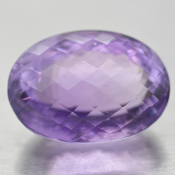 42.64ct Amethyst Oval Cut...