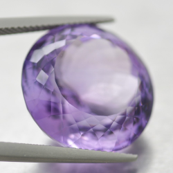 26.35ct Amethyst Round Cut