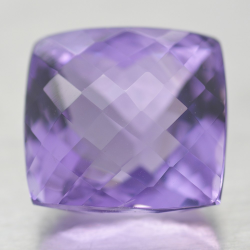 24.67ct Amethyst Cushion...