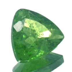 1.47ct Tsavorite Trillion Cut