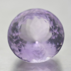 37.14ct Amethyst Round Cut