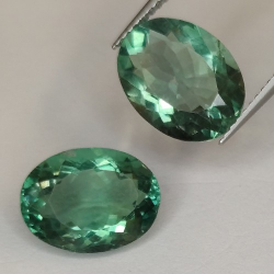 9.88ct Fluorite Oval Cut