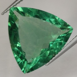 8.04ct Fluorite Trilliant Cut