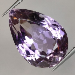 12.59ct Amethyst Pear Cut