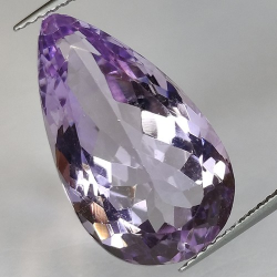 11.84ct Amethyst Pear Cut
