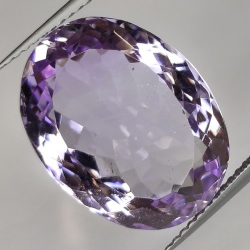 14.93ct Amethyst Oval Cut