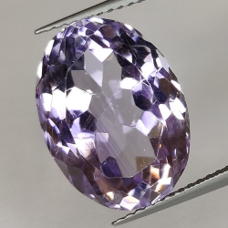 10.81ct Amethyst Oval Cut