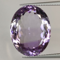 17.51ct Amethyst Oval Cut