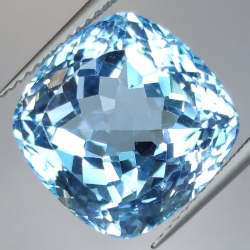 20.93ct Blue Topaz Cushion Cut