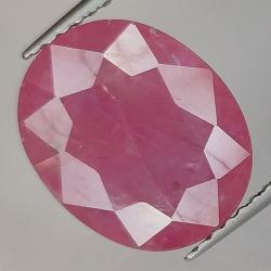 4.84ct Ruby Oval Cut