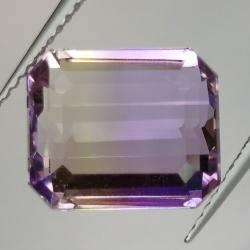 6.58ct Ametrine Emerald Cut