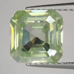 2.49ct Moissanite Emerald Cut