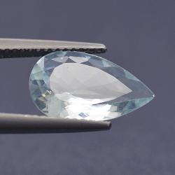 2.49ct Aquamarine Pear Cut