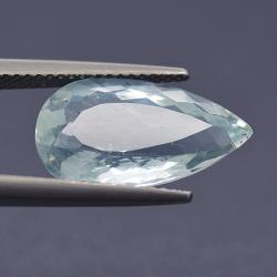 5.40ct Aquamarine Pear Cut