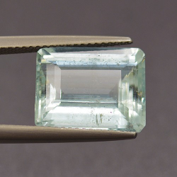 7.37ct Aquamarine Emerald Cut