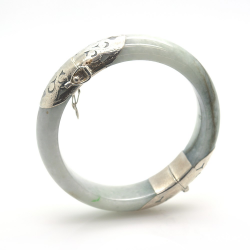 Jade and 925 Sterling...