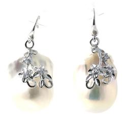 Earrings of Baroque Pearl...