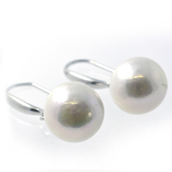 Pearl and Silver 925 Earrings