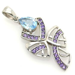 Topaz, Amethyst and Silver...