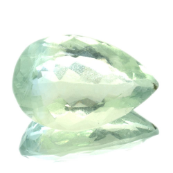 27,70ct. Fluorite Pear Cut