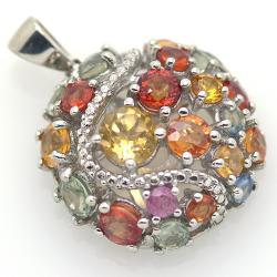 Songea Sapphire Pendant and...