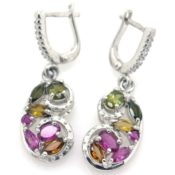 Tourmaline and Silver 925...