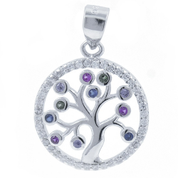 Tree of Life Pendant with...