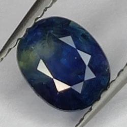 0.87 Blue Sapphire Oval Cut
