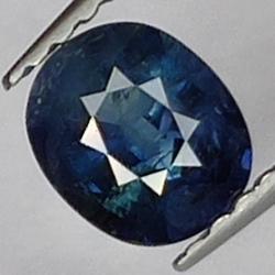 0.82 Blue Sapphire, Oval Cut