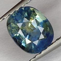 0.96 Blue Sapphire, Oval Cut