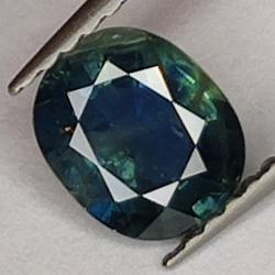 1.12 Blue Sapphire, Oval Cut