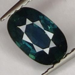 0.91 Blue Sapphire, Oval Cut